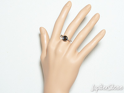 pallasite meteorite-ring-1