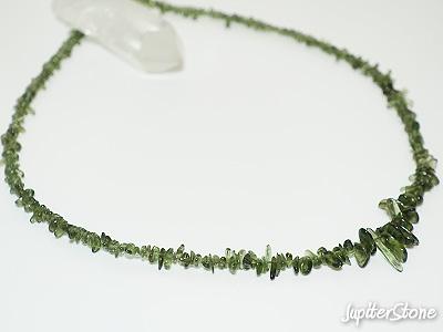 Moldavite-necklace