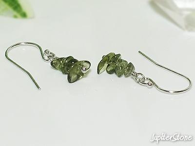 Moldavite-natu-ring-earrings-silver925