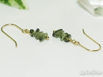 Moldavite-natu-ring-earrings-gold-f