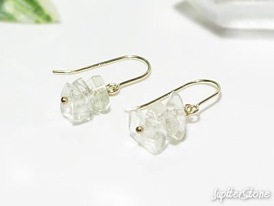 Libyan-desert-glass-earrings
